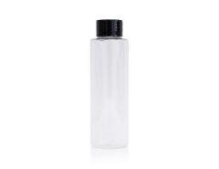 Gjennomsiktig sampleflaske 100 ml med lokk
