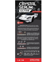 Gtechniq Crystal Serum Ultra Roll-up Banner
