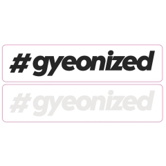 Gyeon #Gyeonized Klistermerke