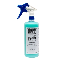 Poorboys Spray and Wipe