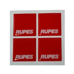 Rupes MRC Logo 3D Stickers - 4 stk.