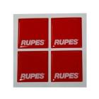 Rupes MRC Logo 3D Stickers - 4 stk.