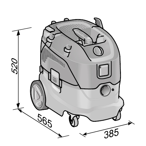 Flex VCE 33 L MC Universal støvsuger – Bilnerden.no